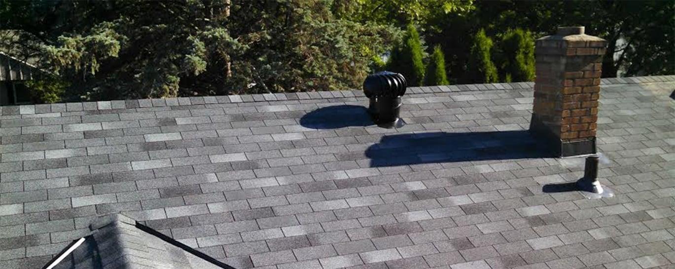 Gray Shingled Roof: Northface Construction