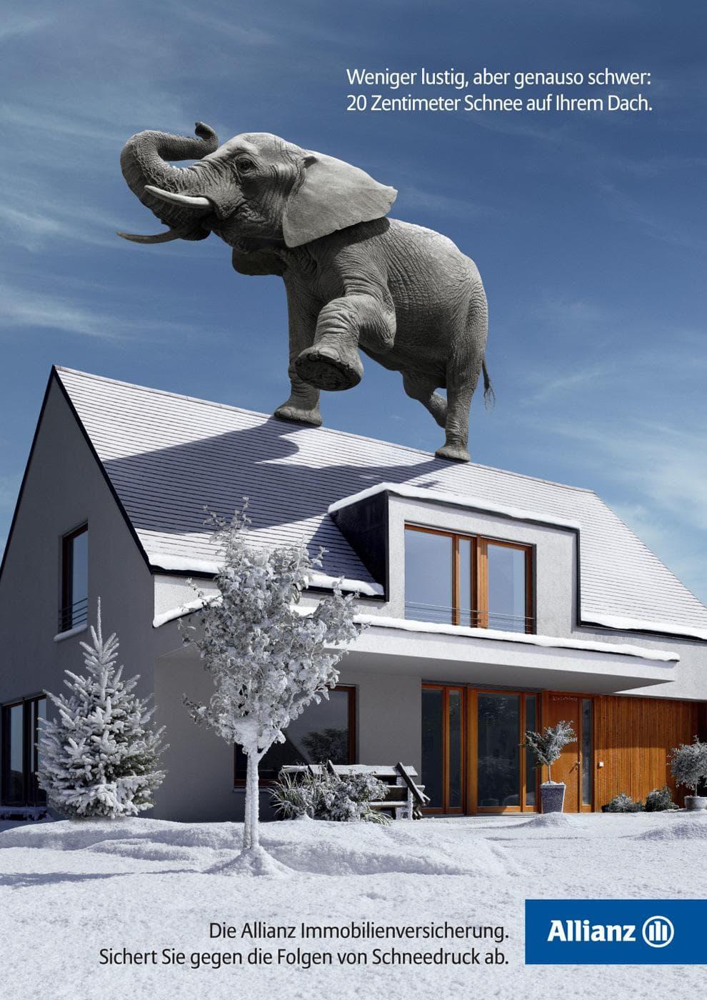 Allianz Elephant Advertising